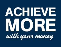Achieve MORE with your money when you bank at a Credit Union.